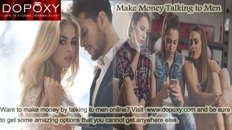 Make money talking to men