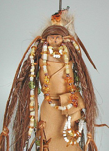 Native American Apache Grandmother Shaman Spirit Doll | Spirit dolls