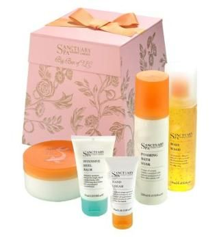 Sanctuary spa christmas gift set