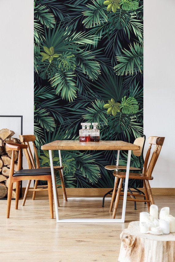 Removable Wallpaper Leaves | Wallpaper, Self Adhesive Wallpaper, Wall mural, Removable Wallpaper, Self adhesive wallpaper, Monster #123 - The jungle #Adhesive #jungle #leaves #mönster #Mural #Removable #Wall #Wallpaper #Woodwallpaper