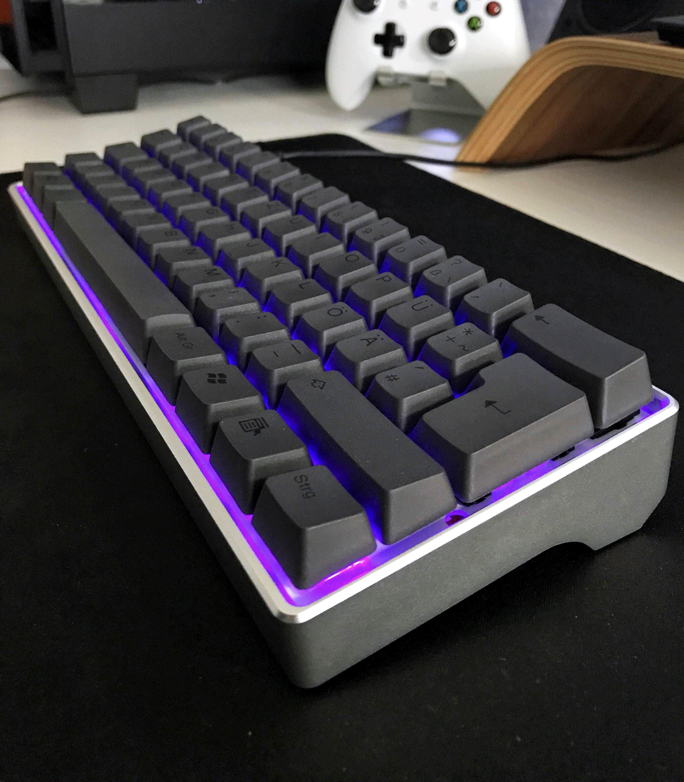 Setting up pc keyboard on mac