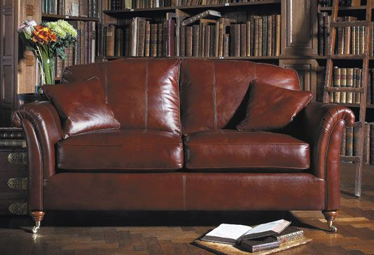 Tradition Never Goes Out Of Fashion This Westbury Leather Sofa By Derwent Offers All These Core Values Within A Compact Design
