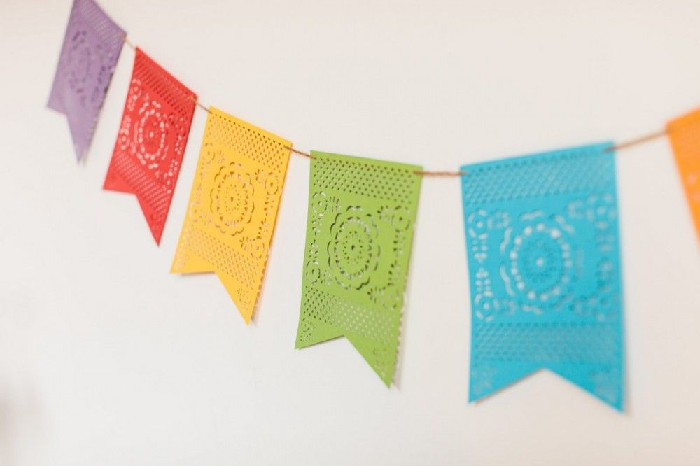 Cricut Explore Cinco De Mayo Banner And Cupcake Flags Cinco De