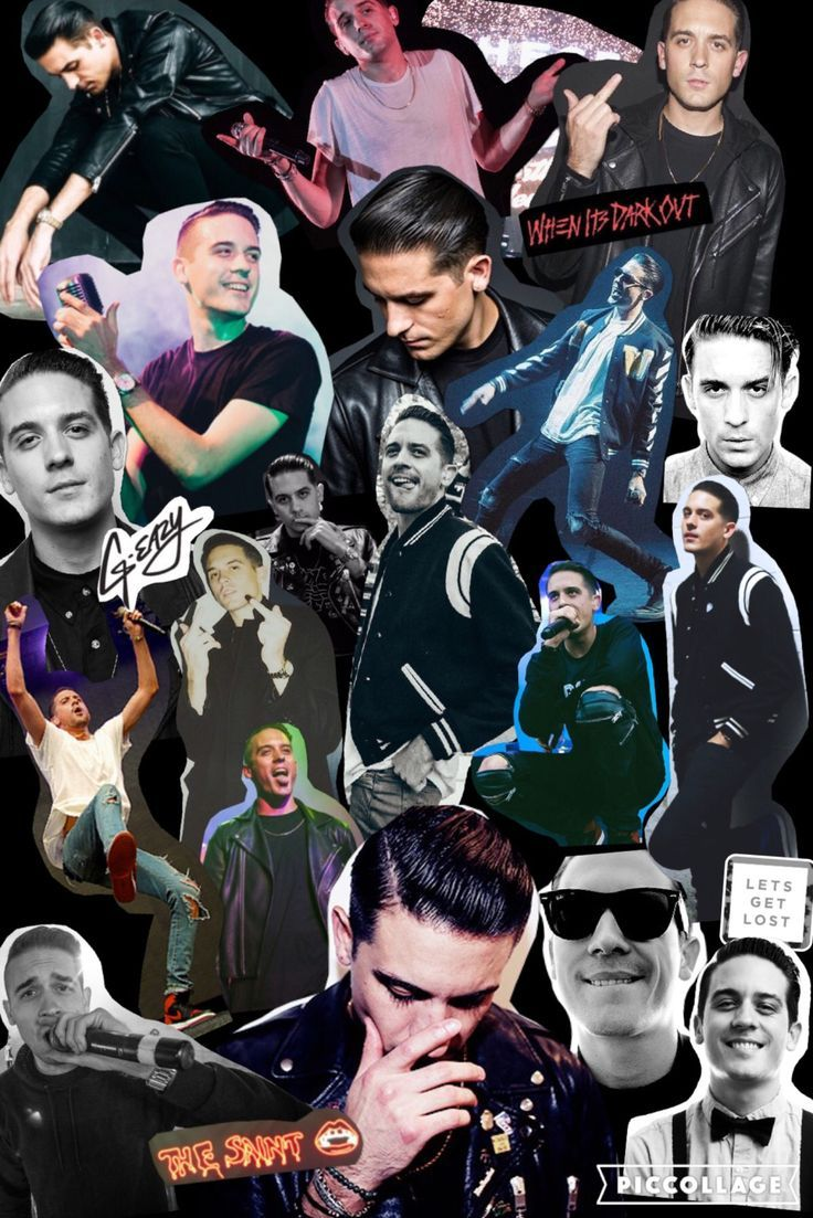 Resultado De Imagen Para Collage G Eazy
