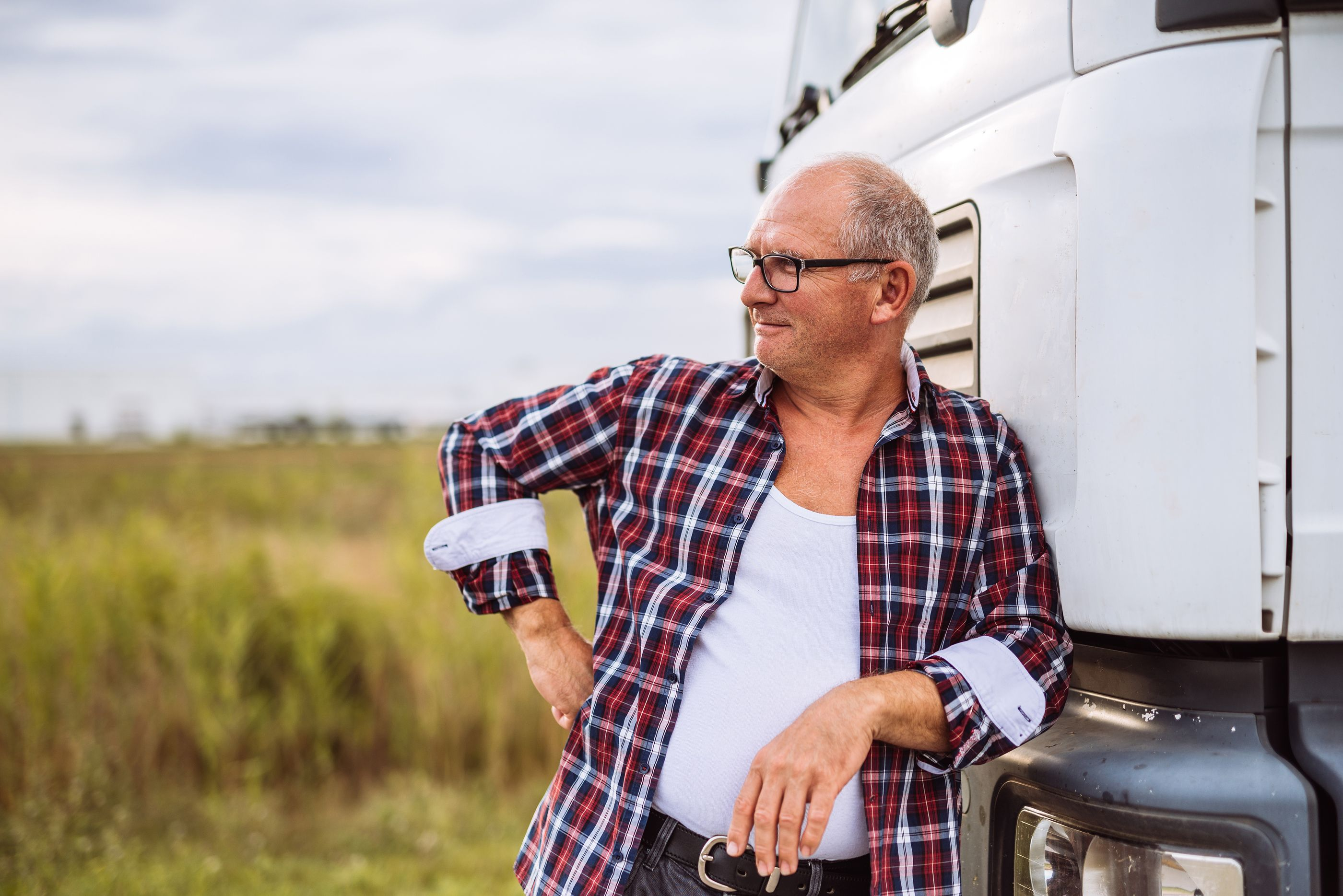 Do older truck drivers pose an accident risk trucking