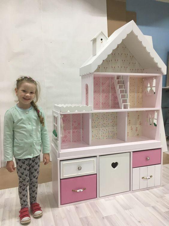 Деревянные кукольные дома своими руками фото 144