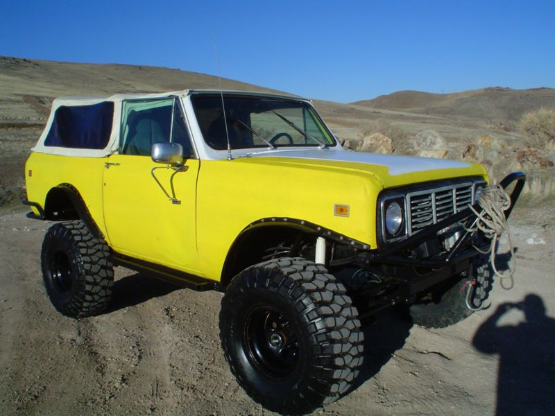 1976 International Harvester : Scout Fuel injected in International ...
