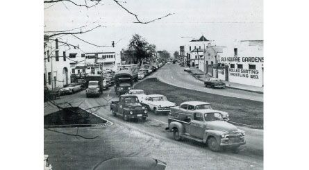 Downtown Marysville Ca Evacuation Of Marysville In December 1955 At First E Streets The Marysville