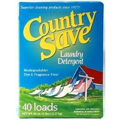 Country Save Laundry Detergent 8x5lb Best Laundry Detergent