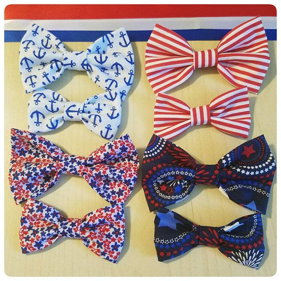 Hey, I found this really awesome Etsy listing at https://www.etsy.com/listing/516000392/red-white-and-blue-hair-bows-patriotic