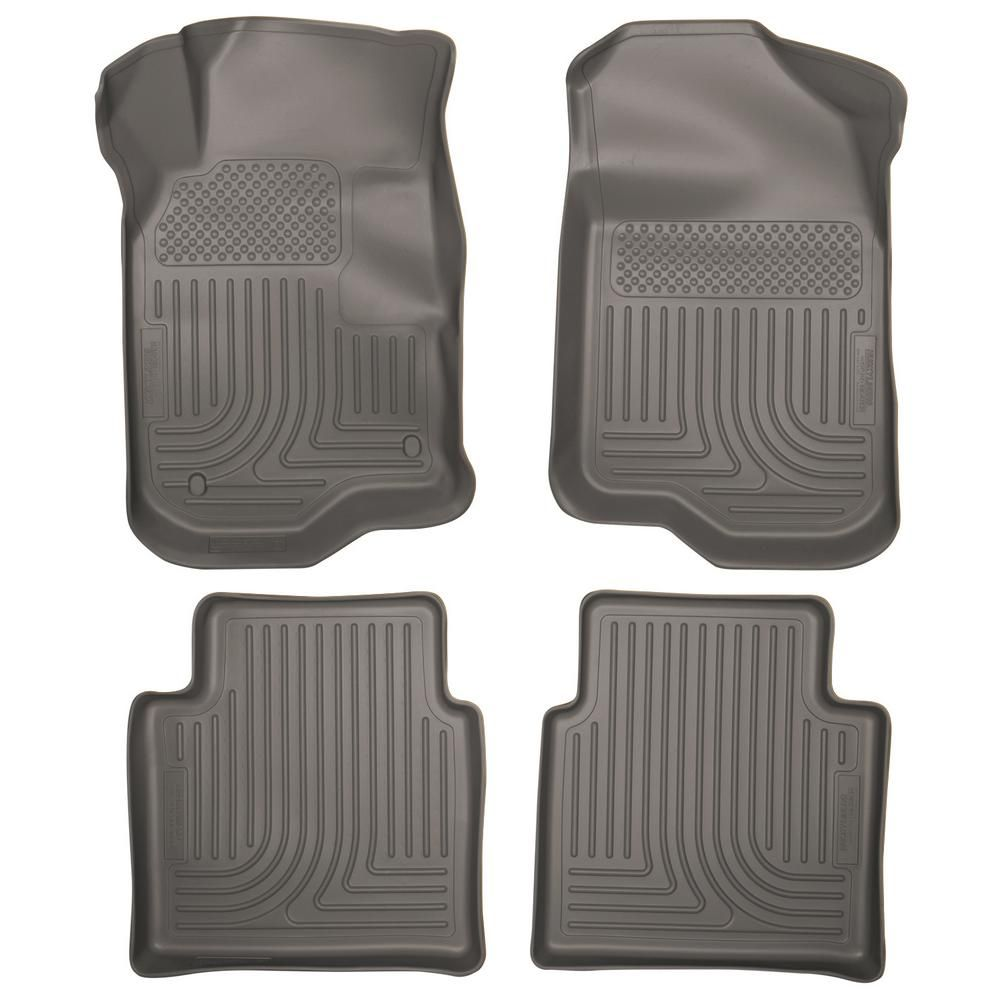 Husky Liners Front 2nd Seat Floor Liners Fits 08 12 Malibu 07