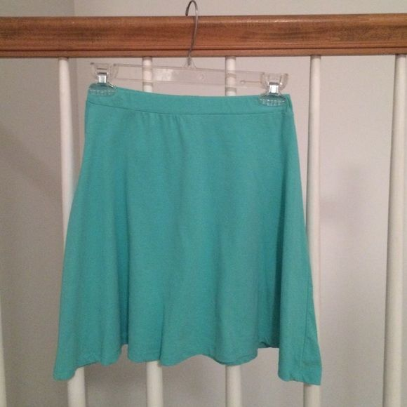 Mint skater skirt size M Super cute mint cotton skater skirt. Perfect for spring and summer! Charlotte Russe Skirts Mini