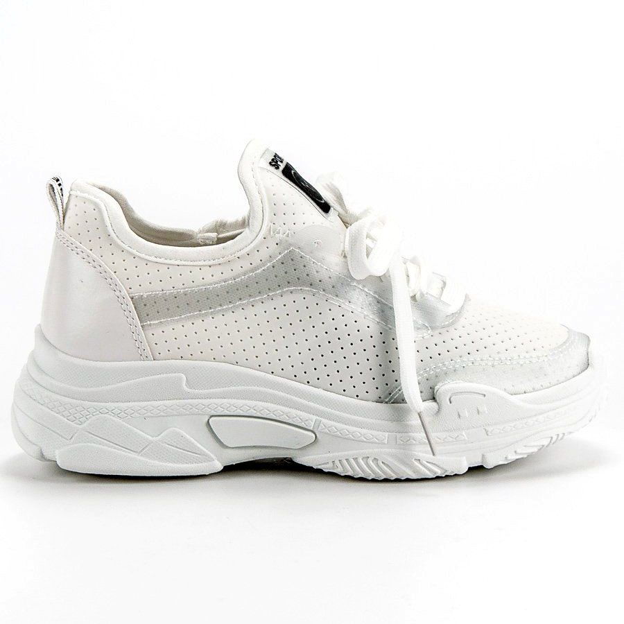 Mckeylor Buty Sportowe Biale Sneakers Shoes Fashion