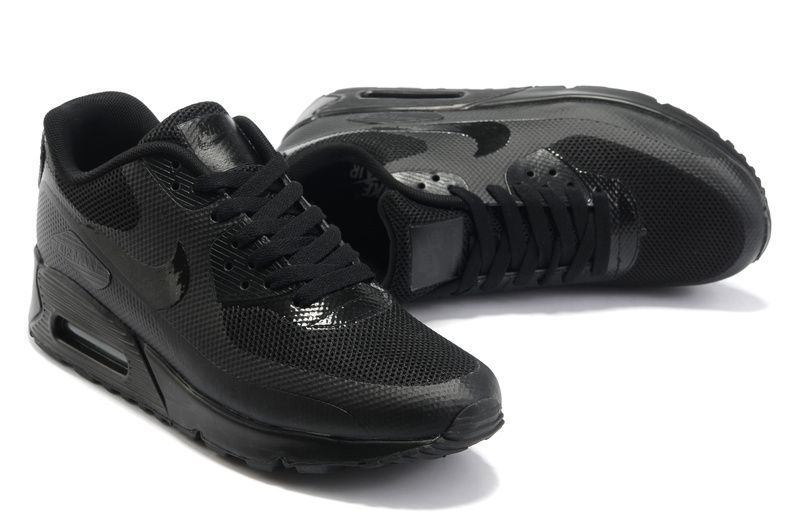 all black air max 90 hyperfuse