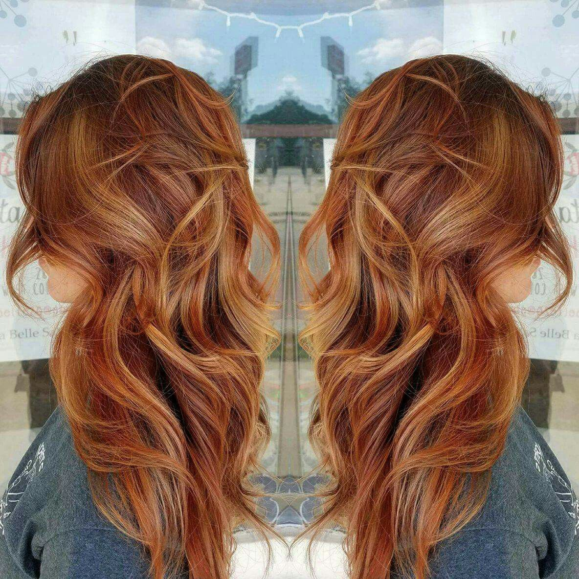fall hair color ideas for blonde brown and auburn hairstyles
