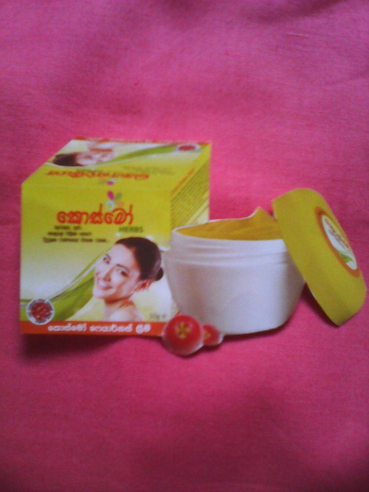 Real Sri Lankan Ayurvedic Herbal Product Cosmo Fairness Cream 30g