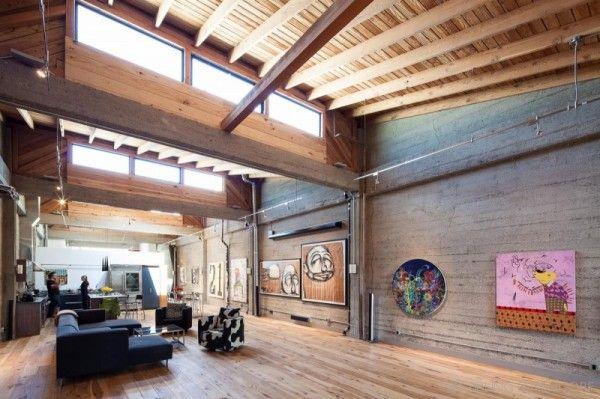 SF Loft – креативная квартира в помещении бывшей фабрики