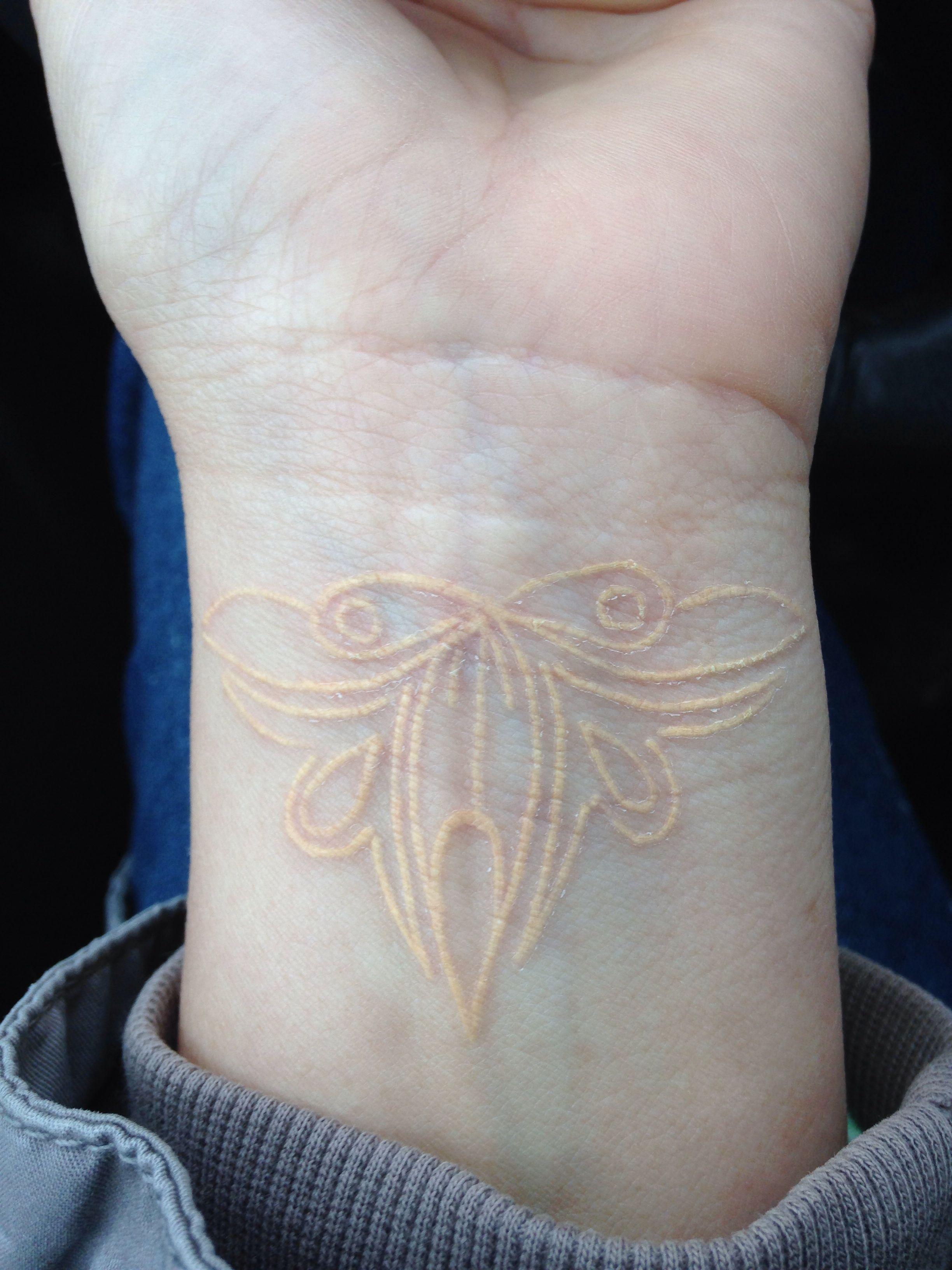 Flesh colored cardstock - Flesh Colored Tattoo