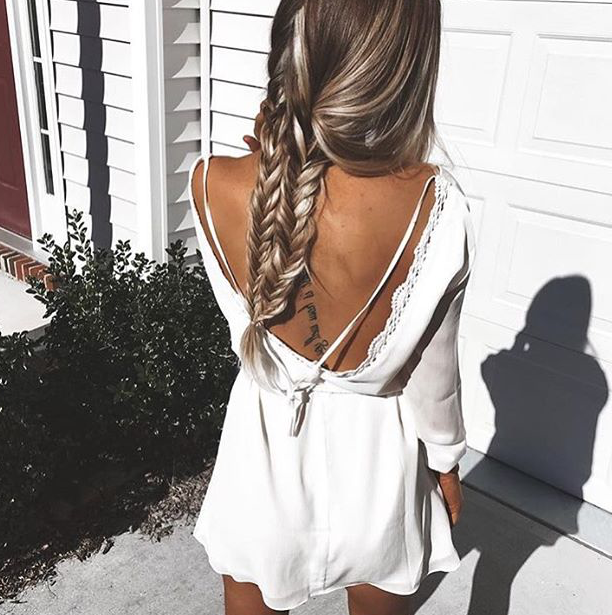 Tumblr Hairstyles for Long Sleeve Dresses
