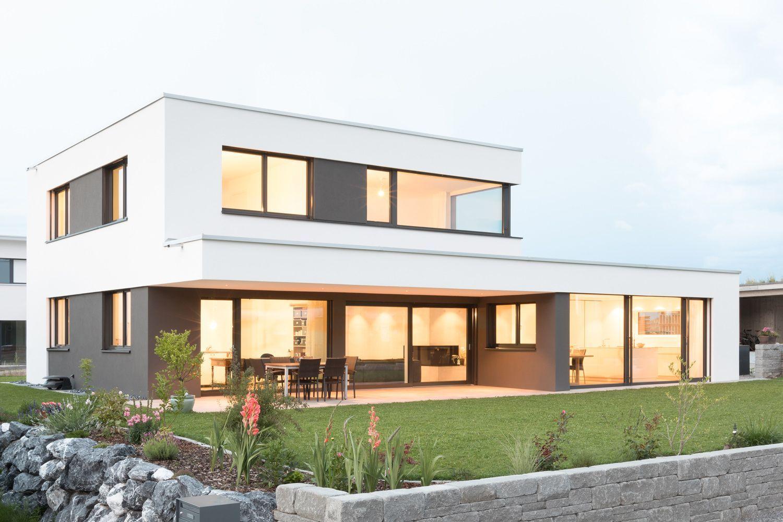 Architekt Architekturbuero Architektenhaus Einfamilienhaus Neubau Wilen P01 Architektarchitekturb In 2020 Architect House Architecture House House Architecture Design