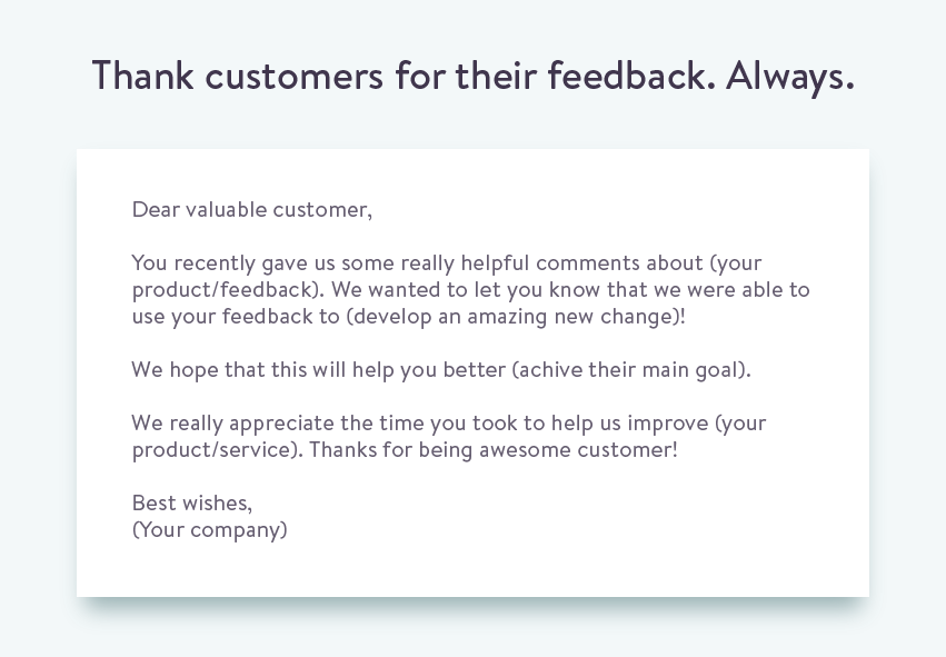The Proper Way To Ask For Customer Feedback  Customer Feedback