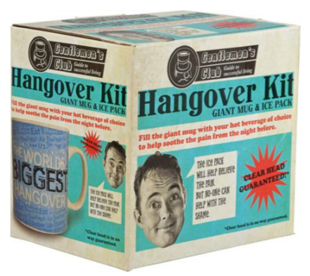 For The Biggest Hangover There Is Only One Secret Santa Gift The