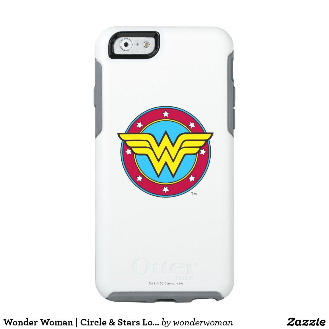 Wonder Woman   Circle & Stars Logo OtterBox iPhone Case