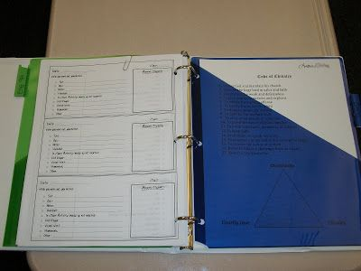 Eat Write Teach The Absent Binder She also has templates for