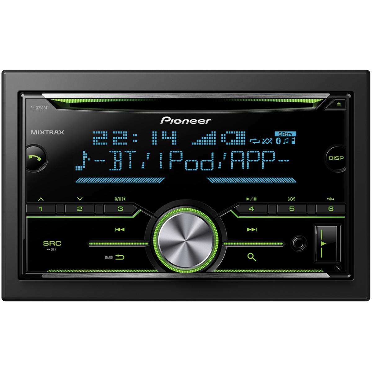 Player auto pioneer fh x730bt bluetooth 4 x 50 w usb