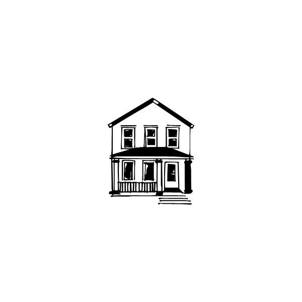 House Doodles - Fonts.com ❤ liked on Polyvore featuring doodles, backgrounds, buildings, sketch and scribble