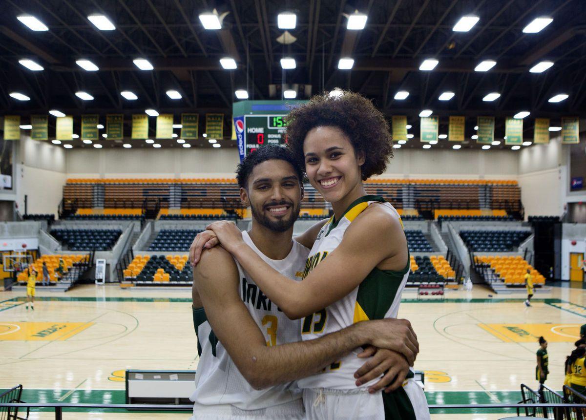 Jonathan Wade And Kiara Phillips Both Play Basketball For Norfolk State  University Part 58