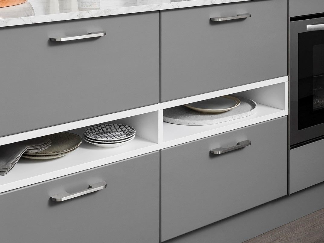 Kitchen Open Shelves Between Drawers Hack Kaboodle Kitchen Kaboodle Kitchen Bunnings Kaboodle Open Shelving