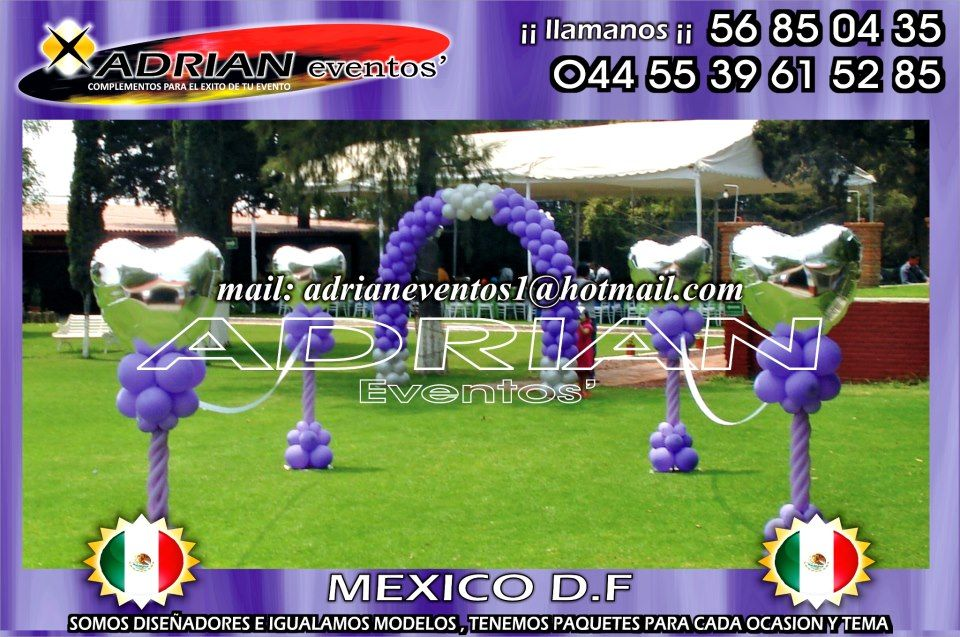 1000+ images about decoracion con globos para xv años on Pinterest