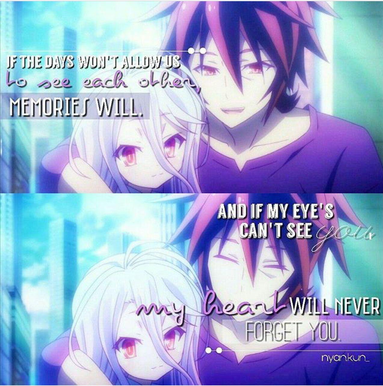 Sora And Shiro No Game No Life Anime Quote Screenshot