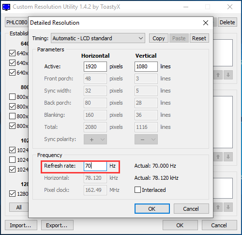 How To Overclock Monitor To A Higher Refresh Rate For Gaming Refresh Rate Screen Tearing Monitor