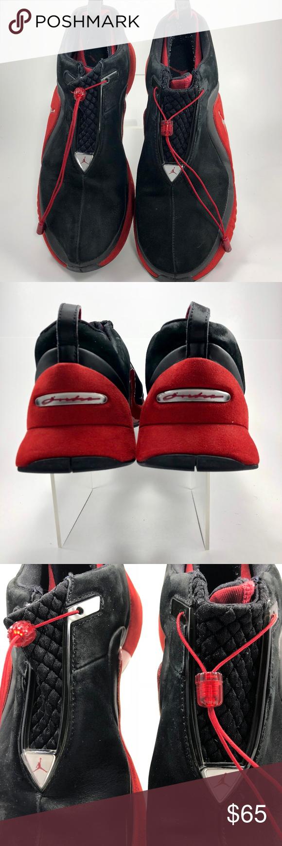NikeTrunnerAttackMens RedBlack 307543006 Black and