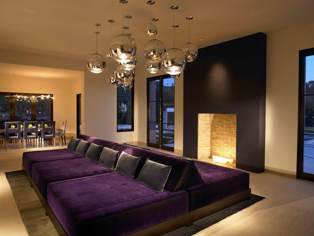 Great Looking Purple Couch Design Ideas Purple couch, Feng shui