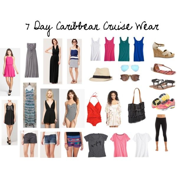 Caribbean Cruise Wear Clothes Shoes Makeup And Other