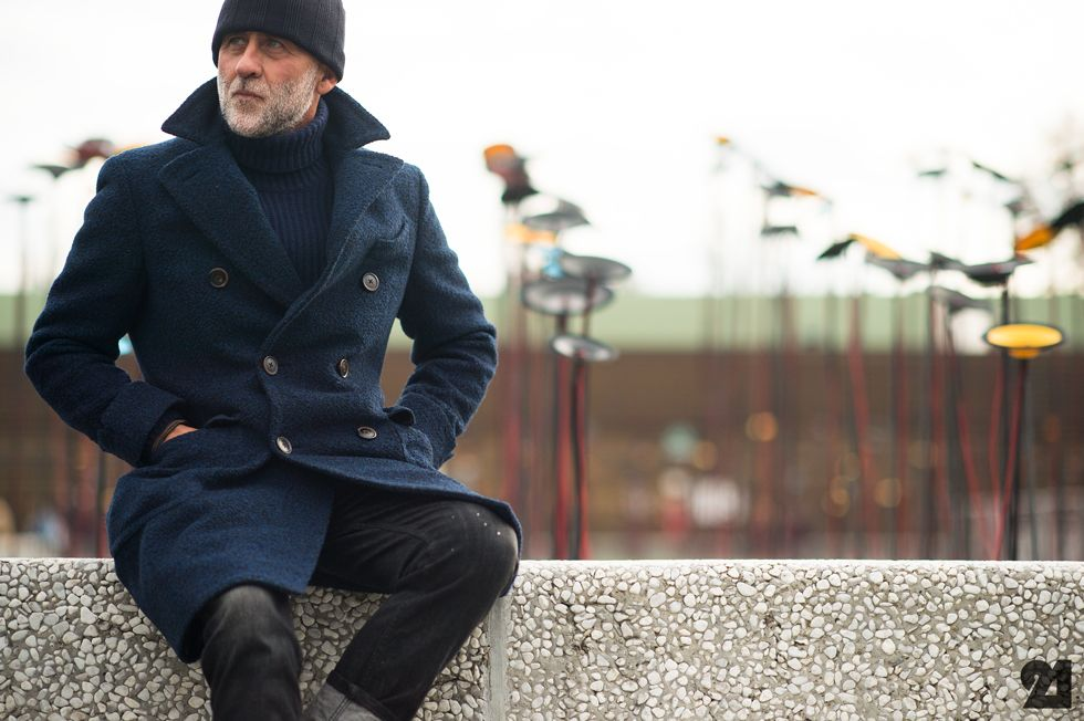1000  images about Men&39s Peacoat Style on Pinterest   Double