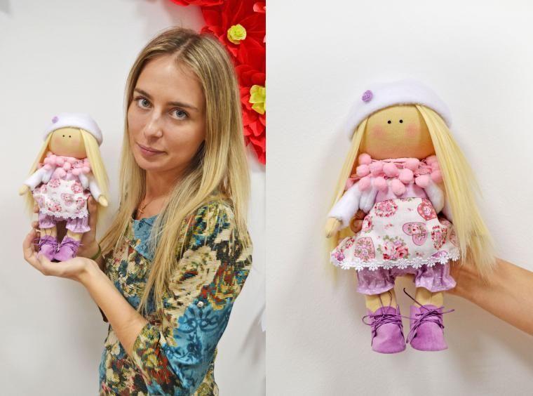 Отчет о мастер-классах в Красноярске. Интерьерная кукла в творческой студии «Бирюза» - Ярмарка Мастеров - ручная работа, handmade