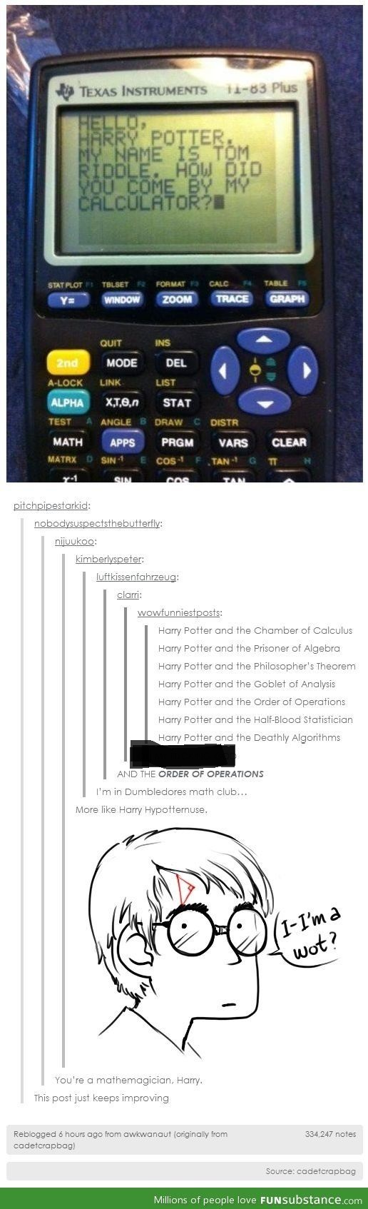 harry hypotternuse