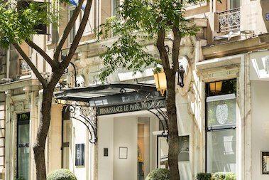 5 Star Hotel In Paris France Near Eiffel Tower Renaissance Paris