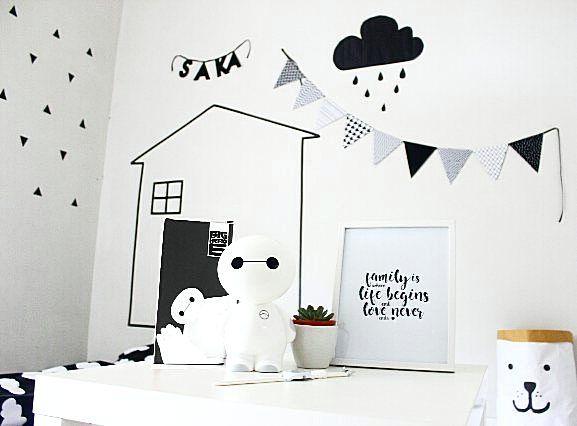 Cat In Fall Wallpaper White Dekorasi Kamar Anak Dekorasi Kamar Tidur Di 2019