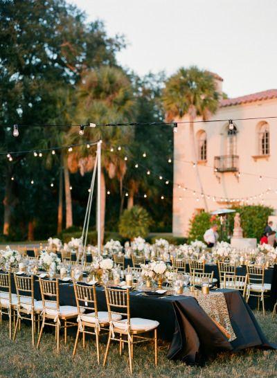 Touches of gold: http://www.stylemepretty.com/little-black-book-blog/2015/04/08/hint-of-glamour-crosley-estate-wedding/ | Photography: Justin DeMutiis - http://justindemutiisphotography.com/