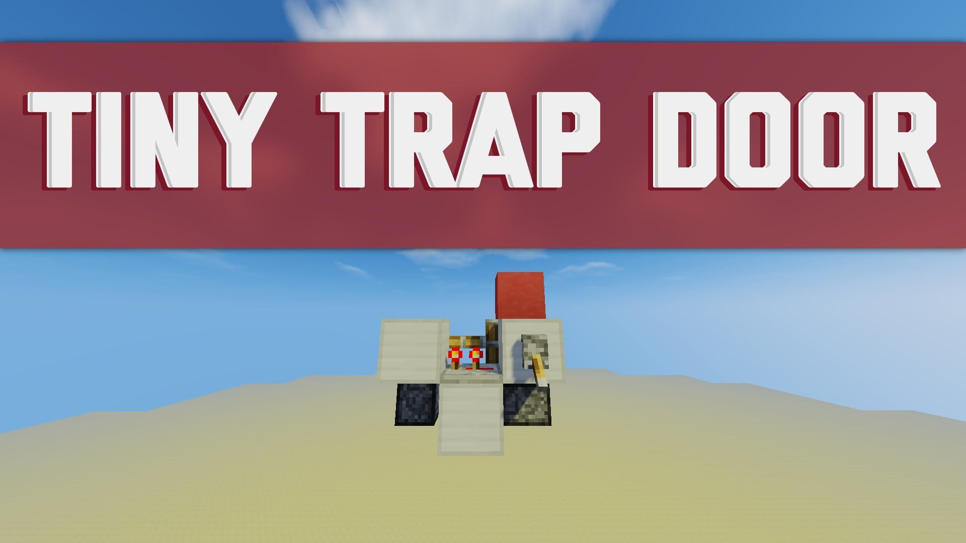 The Smallest Secret Trap Door In Minecraft 1x1 2x1 Or 2x2 Flush With Trap Door Minecraft Traps