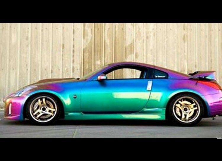 Chameleon car car painting custom cars paint car paint