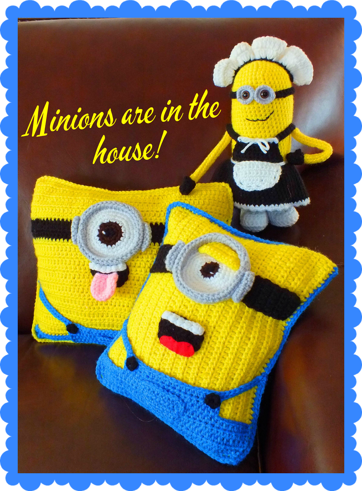 Connie\'s Spot© Crocheting, Crafting, Creating!: Free Minion Inspired ...