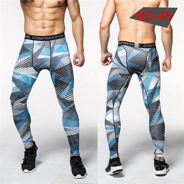 2016 Camouflage Pantalon Hommes Fitness Hommes Joggers Pantalon Mâle  Pantalon De Compression Bodybuilding Collants Leggings 45c52db1e6d