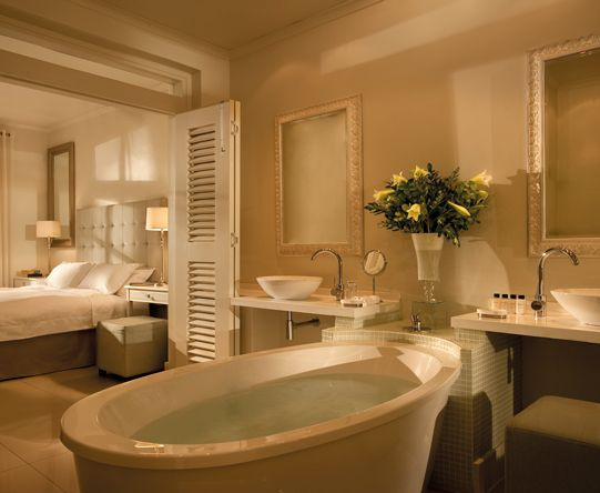 We\u0027ve chosen accommodation with deep, free-standing baths  all the