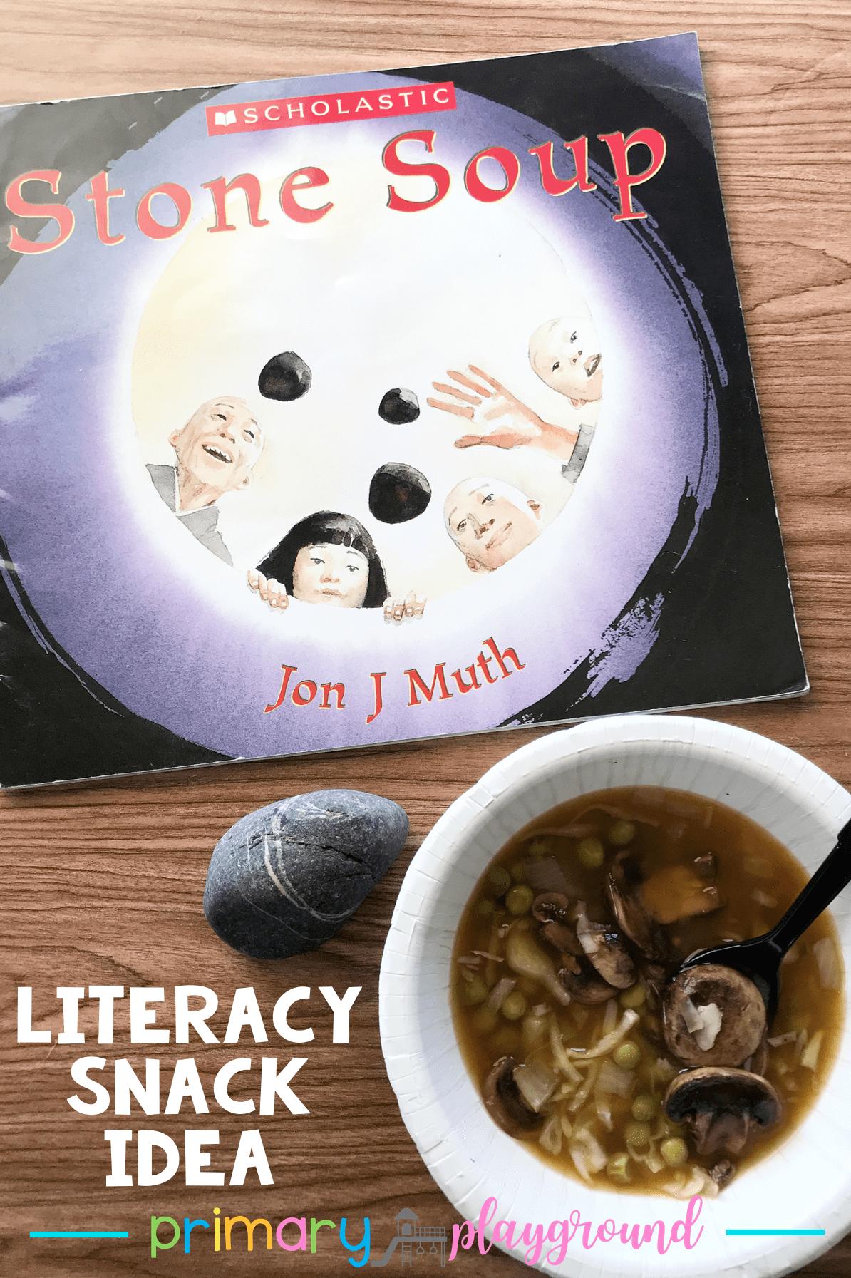 Literacy Snack Idea Soup Free Printable